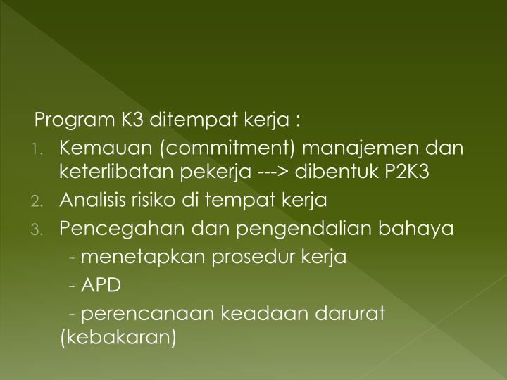 Program K3