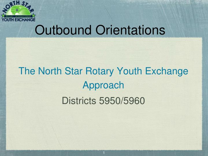Outbound orientations