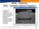 4800 software sdk ejemplo captura imagenes
