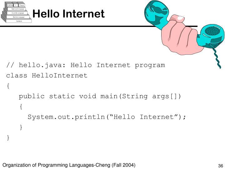 Hello Internet