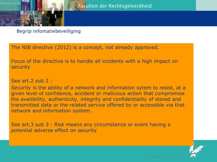 Begrip infomatiebeveiliging
