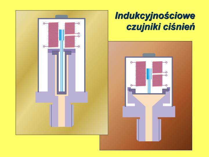 Indukcyjnościoweczujniki ciśnień