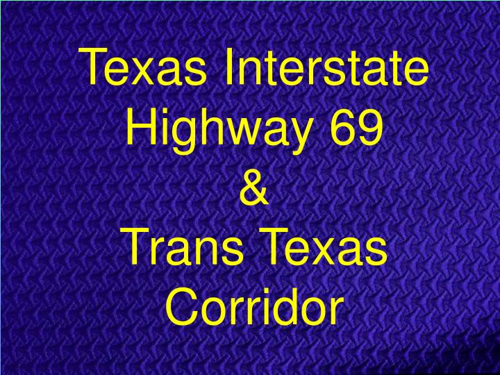 Texas Interstate Highway 69