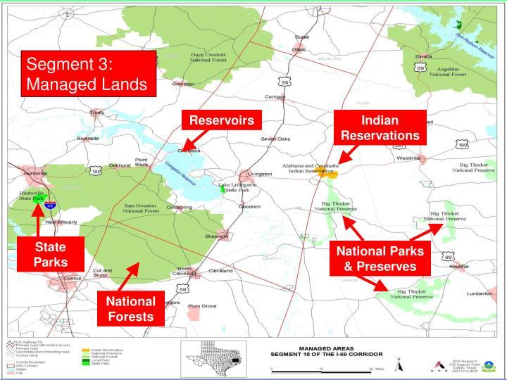Segment 3: Managed Lands