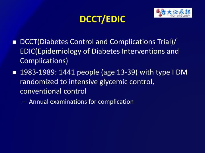 DCCT/EDIC
