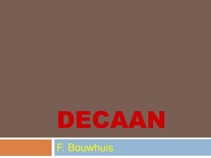 DECAAN