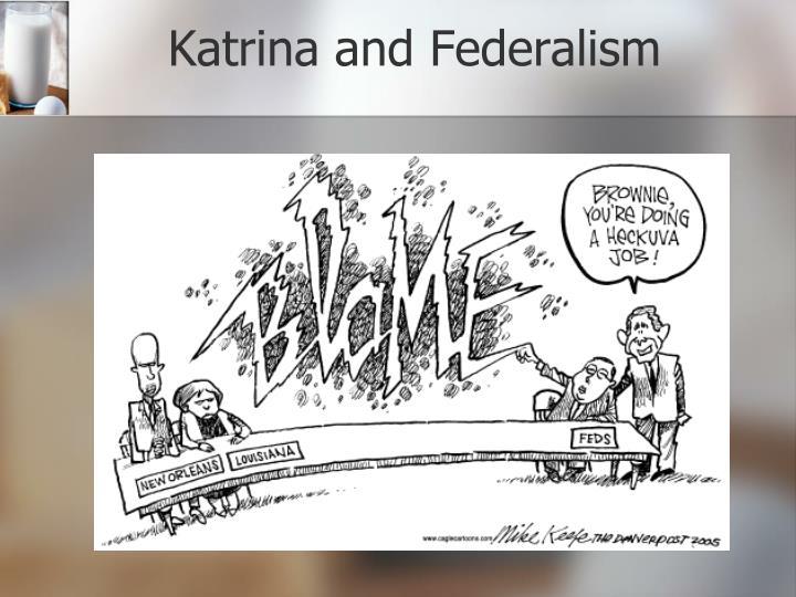 Katrina and Federalism