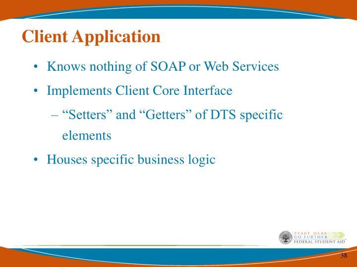 Client Application