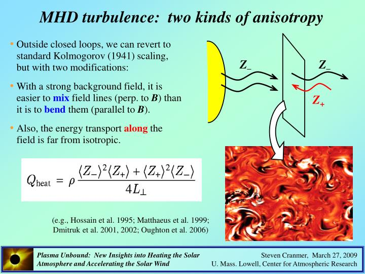 MHD turbulence:  two kinds of anisotropy