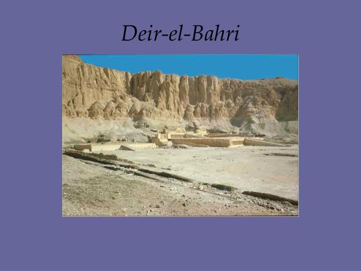 Deir-el-Bahri