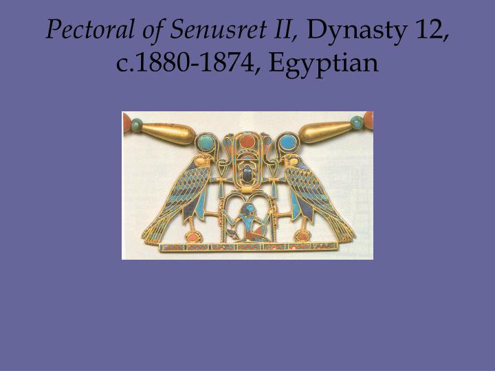 Pectoral of Senusret II,