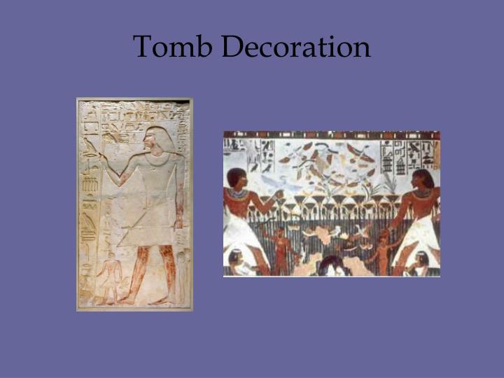 Tomb Decoration