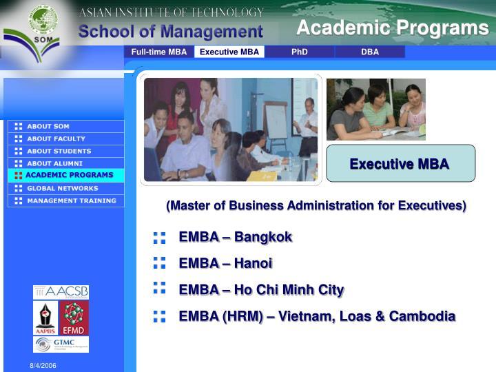 Academic Programs