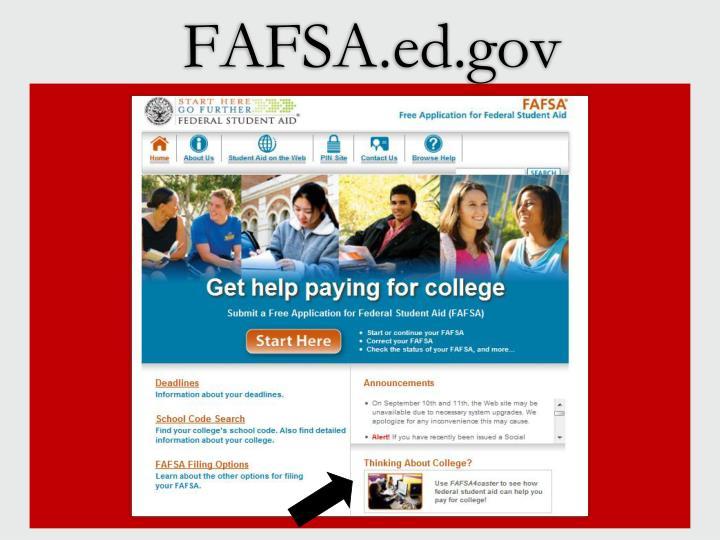 FAFSA.ed.gov
