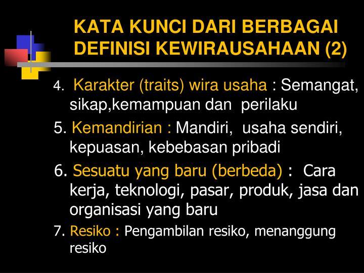 KATA KUNCI DARI BERBAGAI DEFINISI KEWIRAUSAHAAN (2)