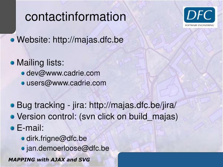 contactinformation