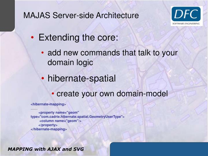 MAJAS Server-side Architecture