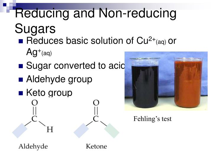 Reducing and Non-reducing Sugars