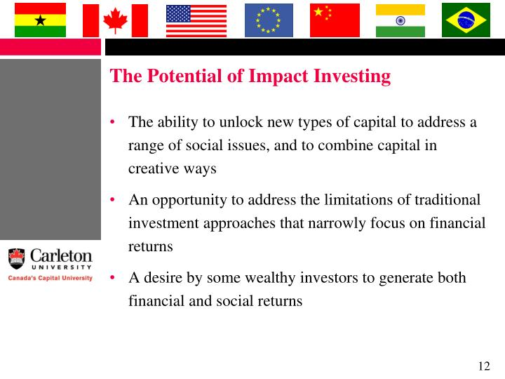 The Potential of Impact Investing