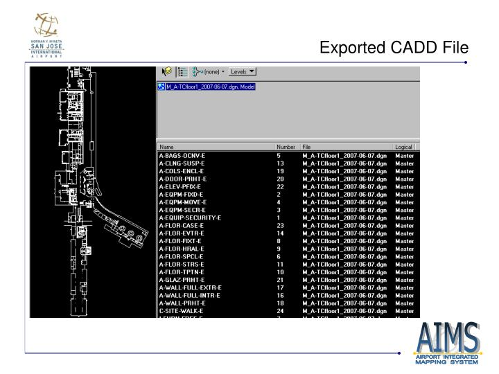 Exported CADD File