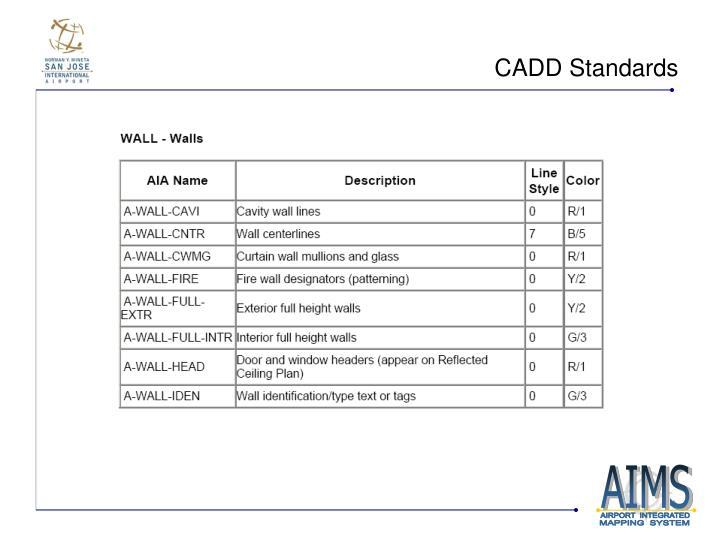 CADD Standards