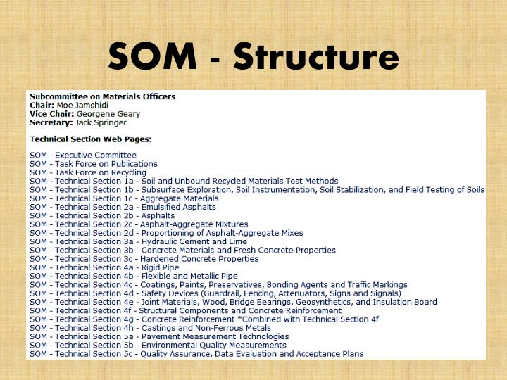 Som structure