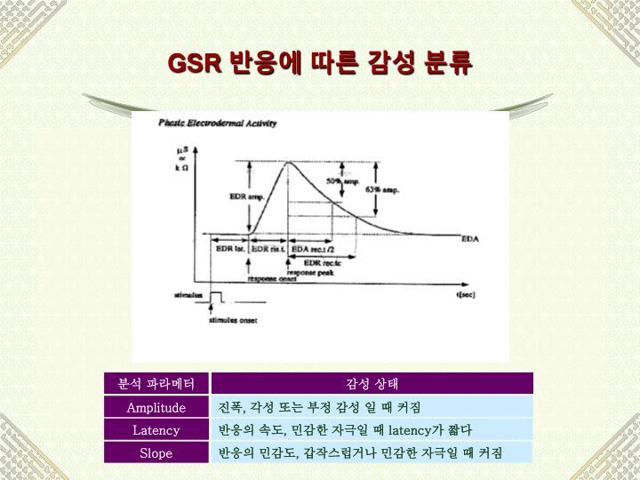 분석 파라메터