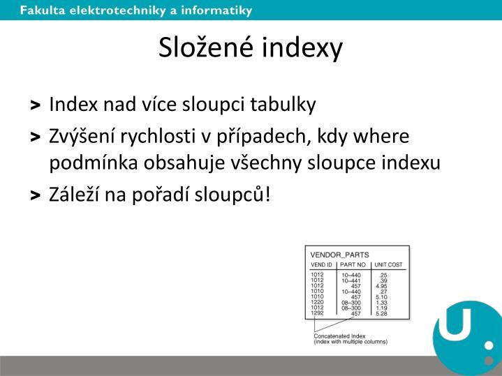 Složené indexy