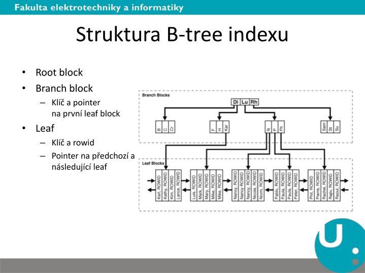 Struktura B-