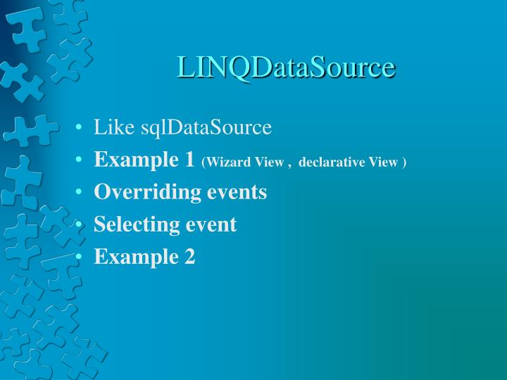 LINQDataSource