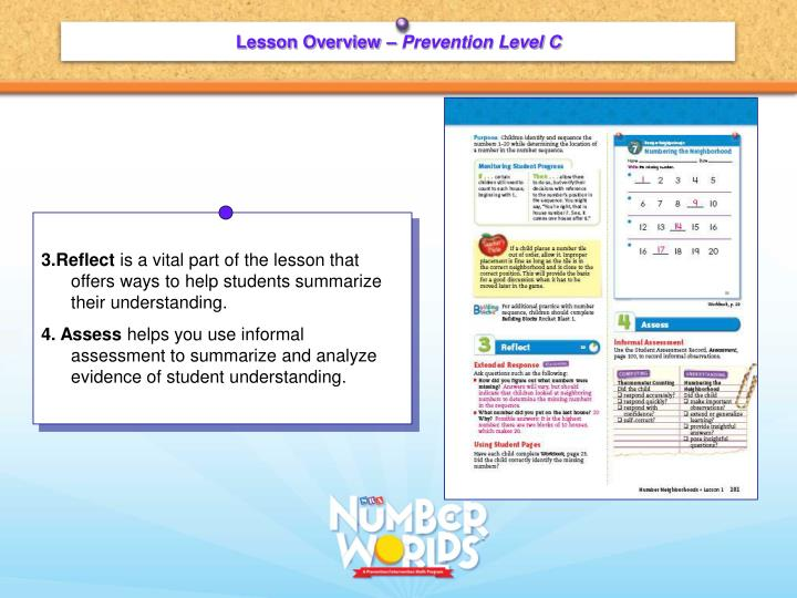 Lesson Overview –
