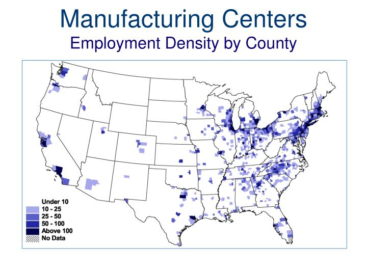 Manufacturing Centers