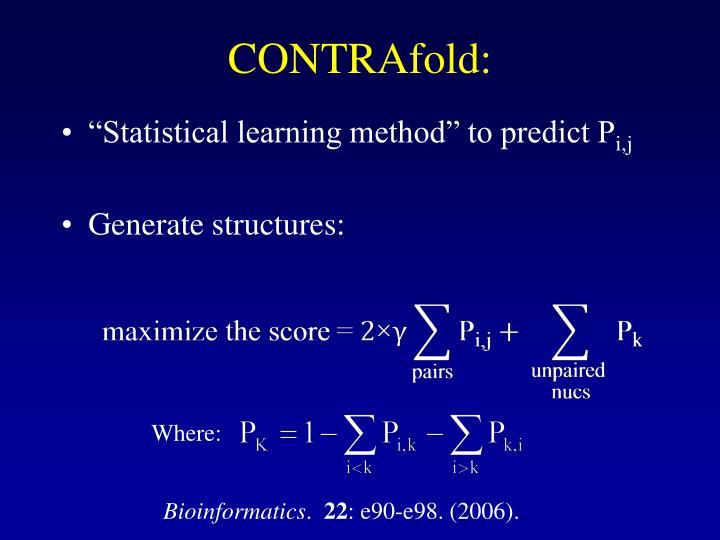 CONTRAfold: