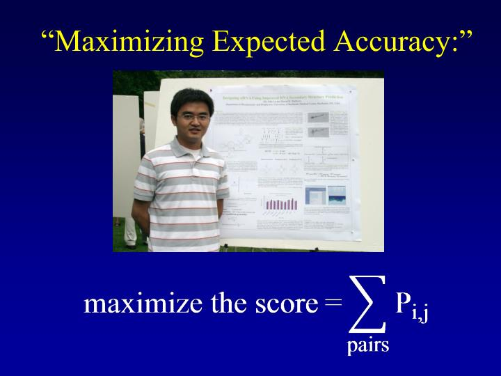 """Maximizing Expected Accuracy:"""