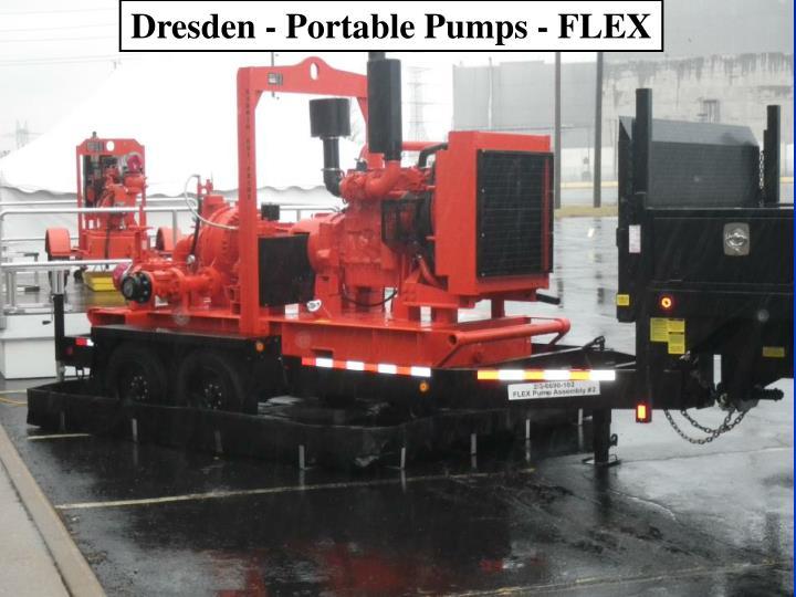 Dresden - Portable Pumps - FLEX