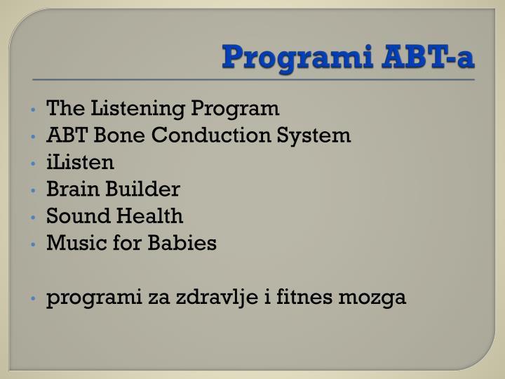 Programi ABT-a