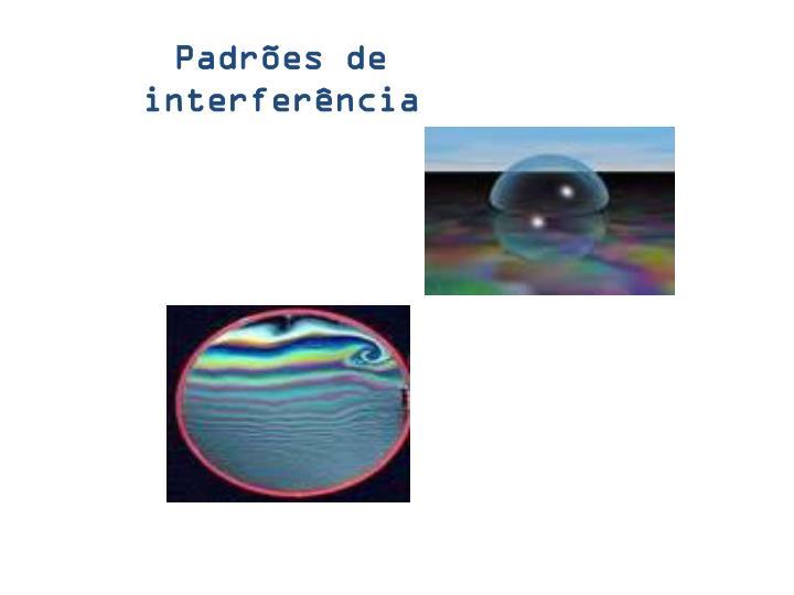 Padrões de interferência