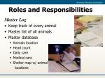 roles and responsibilities9