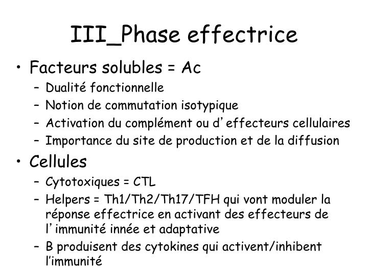 III_Phase effectrice