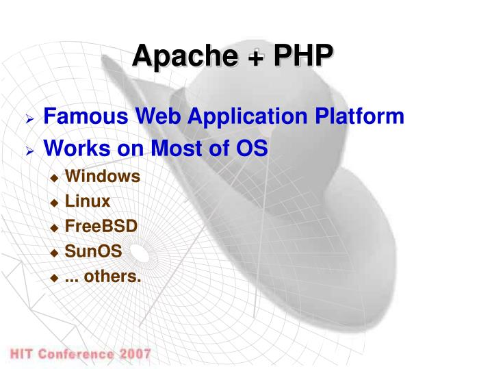 Apache + PHP