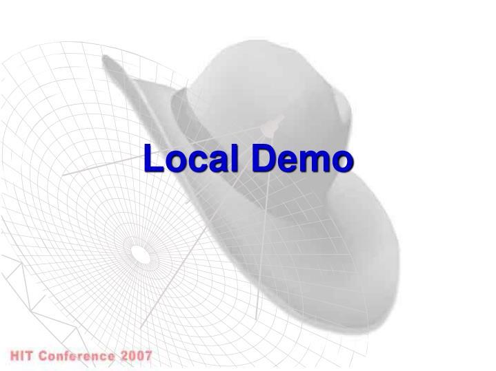 Local Demo