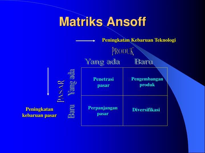 Matriks Ansoff