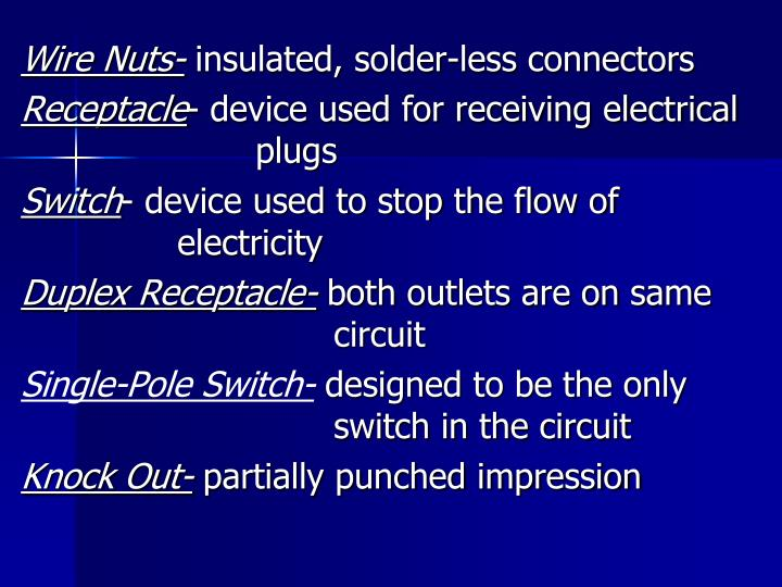 Wire Nuts-