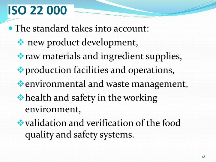 ISO 22 000