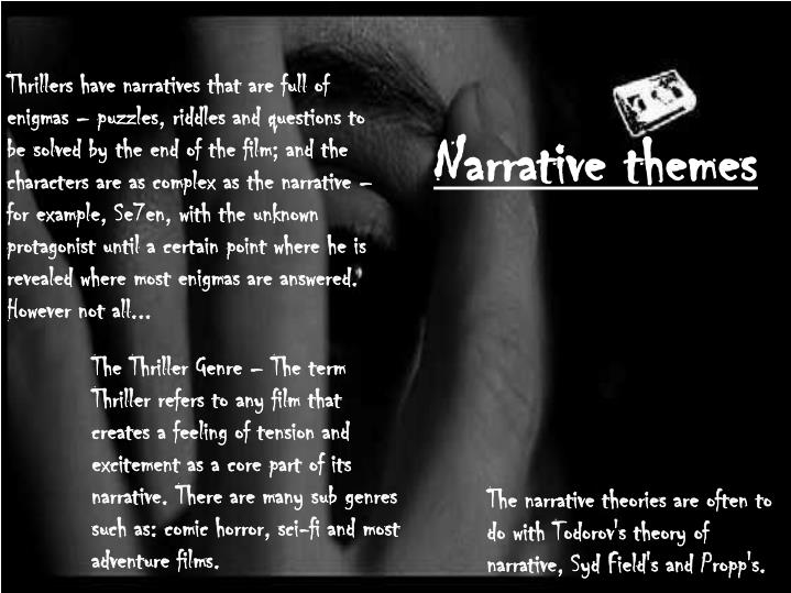 Narrative themes