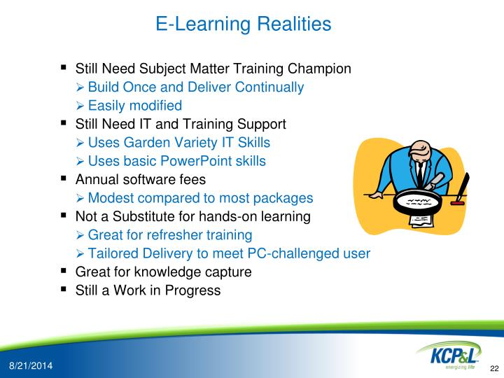 E-Learning Realities
