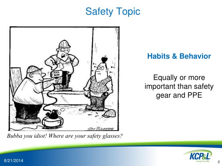 Safety topic
