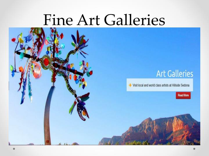 Fine Art Galleries