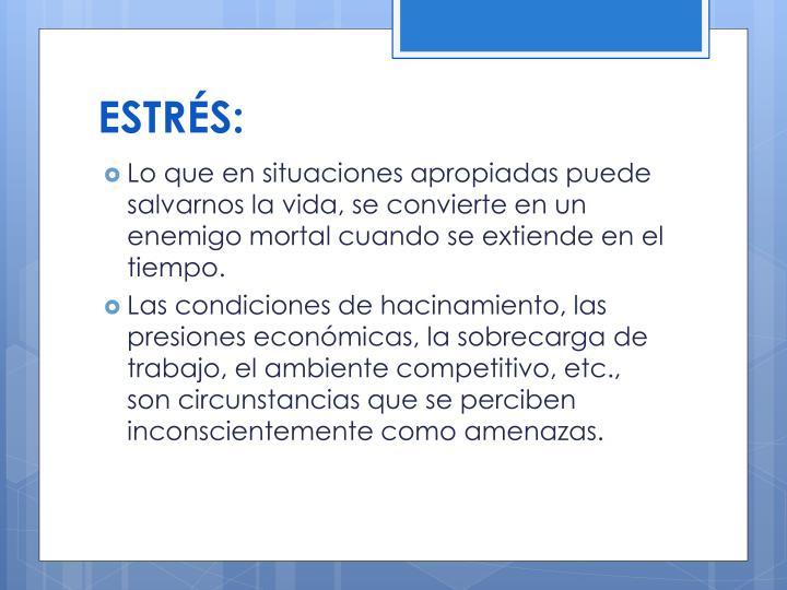 ESTRS: