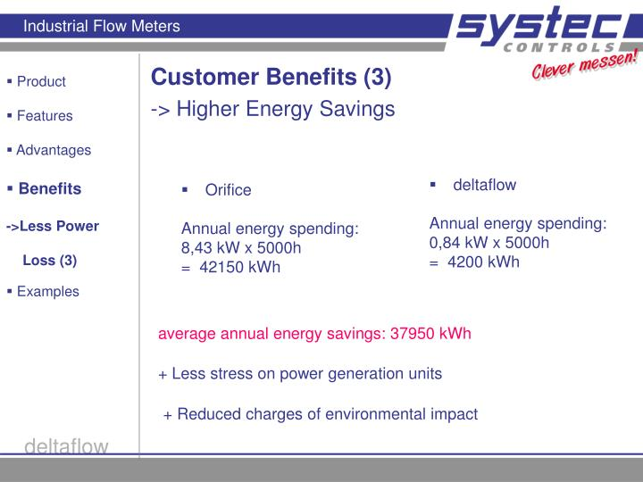 Customer Benefits (3)